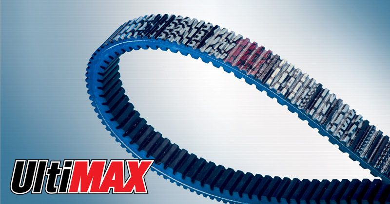 Image showing the Ultimax® MAX Belt a CVT Belt and Snowmobile Belt for Snowmobiles