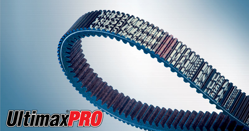 Image showing the Ultimax® PRO Belt a CVT Belt and Snowmobile Belt for Snowmobiles
