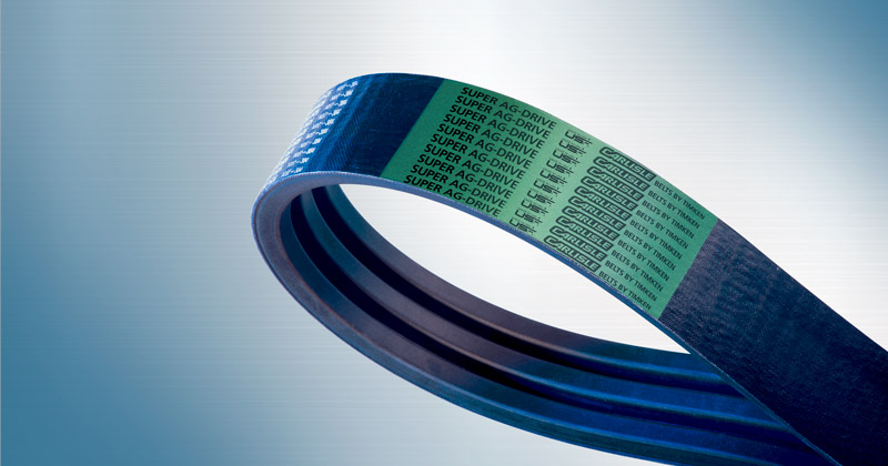 Image showing the Carlisle Belts Agricultural Banded Belt an Agricultural Belt and Banded Belt for Combines, Harvesters, and Tractors
