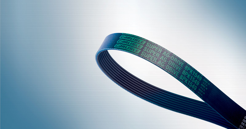 Image showing the Agricultural Vee Ribbed Belt by Carlisle Belts a Ribbed Belt for tough Agricultural applications and machinery.