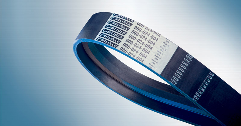 Image showing Bowling Ball Lift V-Belts by Carlisle Belts a V-Belt designed for use on Bowling Ball Lifts