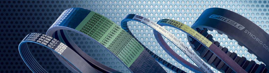 Image showing Drive Belts and Power Transmission Belts by Carlisle Belts, Dayco Belts and CRP
