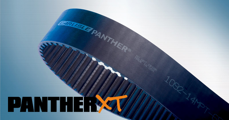 Panther® XT Belts - High-Performance Synchronous Belts by Carlisle Belts