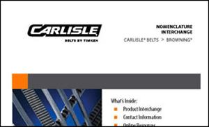 Carlisle Belts Catalog, Belt Interchanges & Tech Sheets
