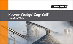 Download the Power-Wedge Cog V-Belt Brochure to explore the benefits of the heavy-duty v-belt for your drive system