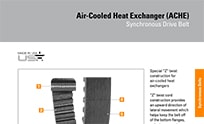 Browse Product Features & Dimensions Air Cool Heat Exchange Belts Brochure