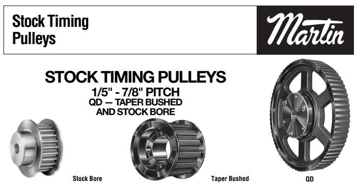 Timing Belt Pulleys Catalog