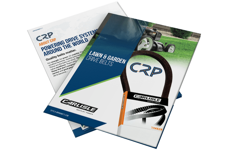 Download Lawn and Garden Belts Brochure 2018 for over 70,000 Cross References on Lawnmower Belts & Outdoor Power Equipment
