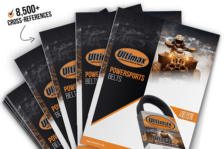 Download Our Powersports Belts Brochure