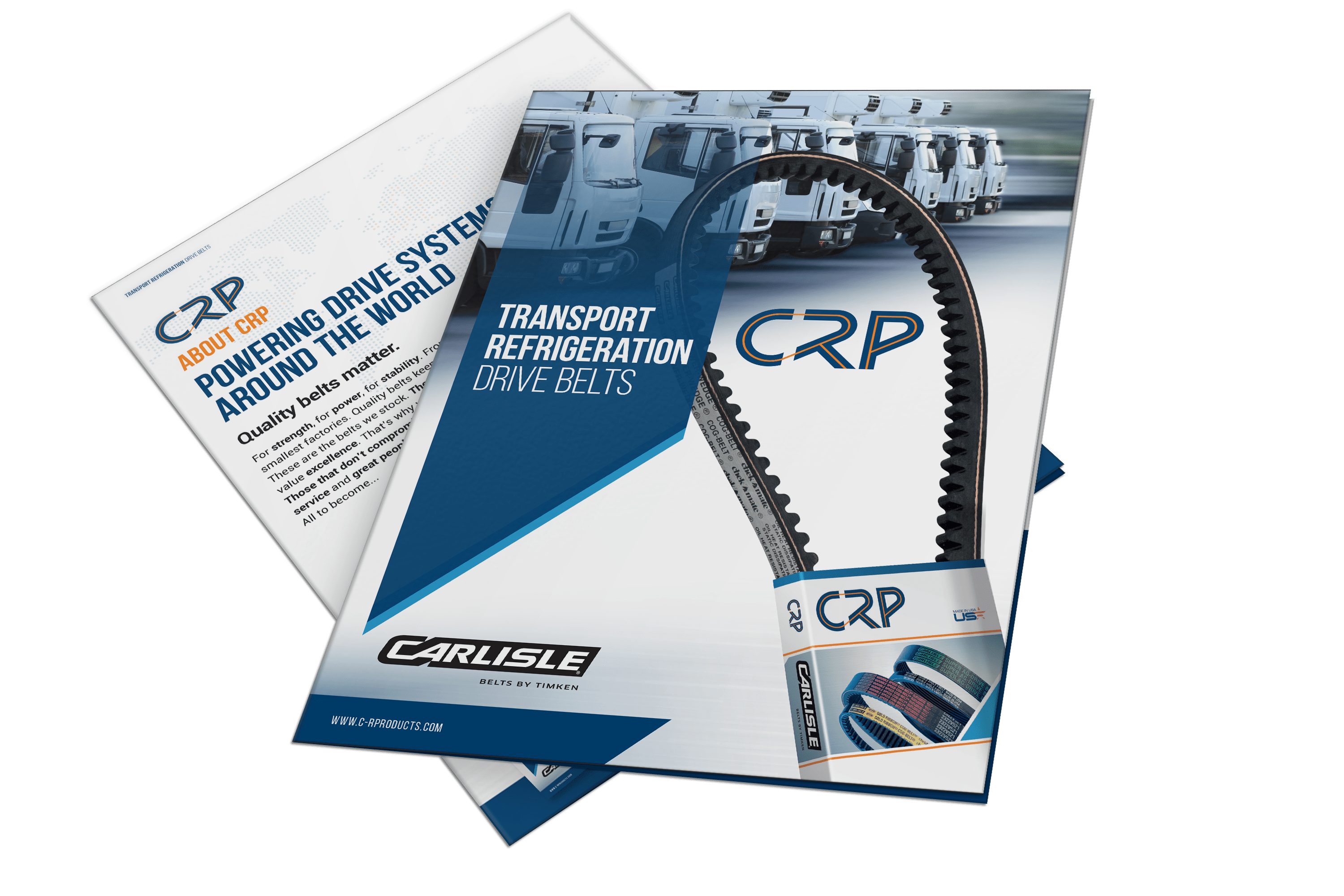 Download Our Transport Refrigeration Belts Brochure
