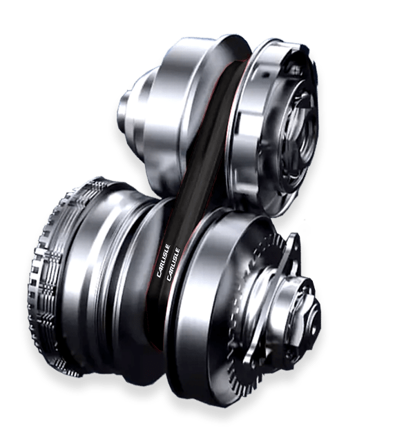 CVT Drive with Carlisle® CVT Belts