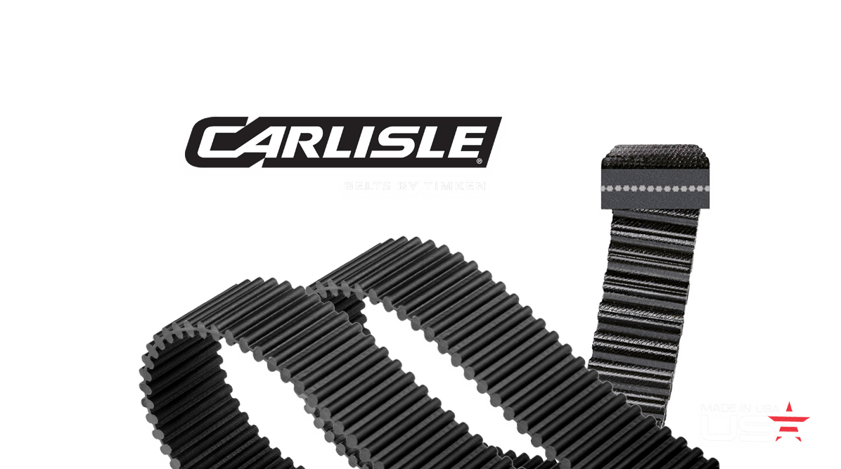 Dual Synchronous Belts by Carlisle® Belts