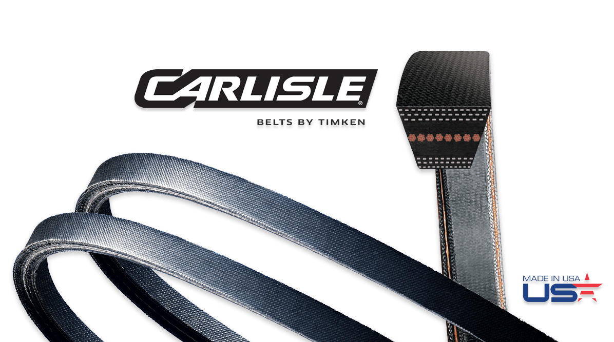 Durapower FHP II Raw-Edge V-Belts in EPDM
