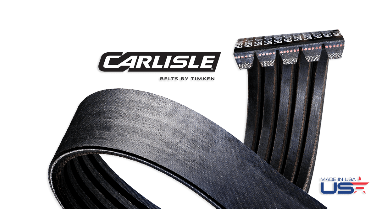 Wedge-Band® Chipper Drive Banded Belts by Carlisle® Belts